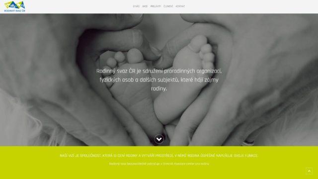 fotka Rodinný svaz – web