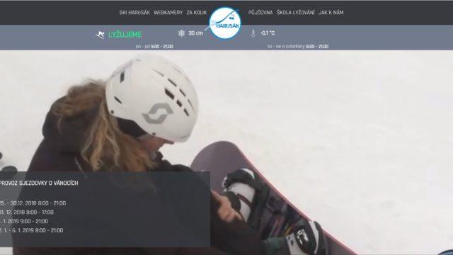 fotka SKI Harusák – web