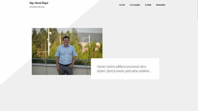 fotka Mgr. Marek Šlapal – web