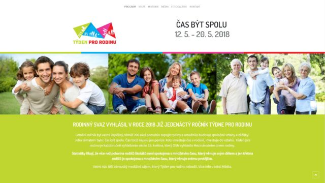 fotka Týden pro rodinu – web