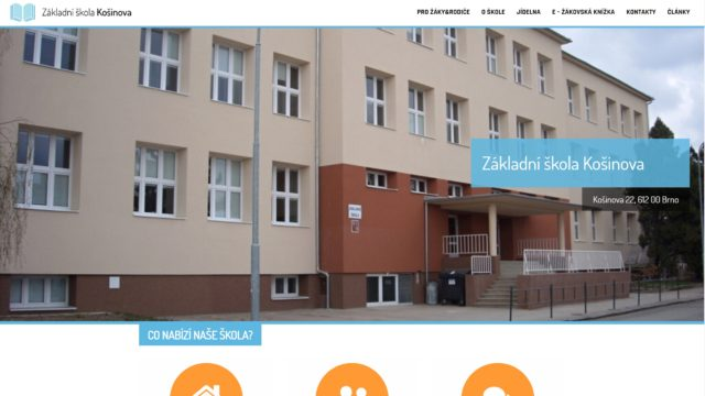 fotka ZŠ Košinova – web