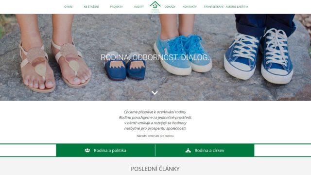 fotka Národní centrum pro rodinu – web